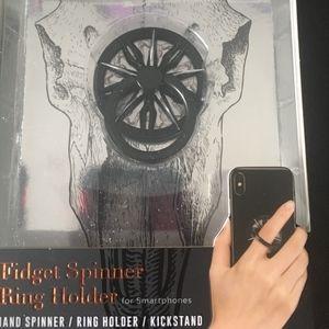 Fidget Spinner Phone Ring Holder